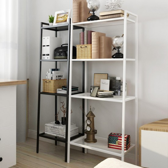 Living room landing bookshelf bookcase storage rack storage ladied lacline simple home landing economy bookshelf